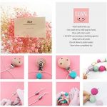 Mamimami Home DIY Nursing Necklace Teething Beads Silicone Bracelet Baby Teether Pacifier Clips Nurse Charms de la marque Mamimami Home image 4 produit